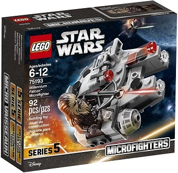 LEGO 75193Star Wars Millennium Falcon Microfighter Set