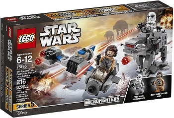 LEGO 75195 Ski Speeder vs. First Order Walker Microfighters Set