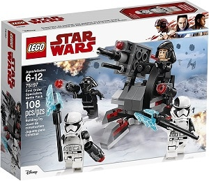 LEGO 75197 First Order Specialists Battle Pack Set