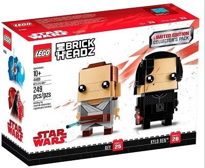 LEGO BrickHeadz Star Wars Rey and Kylo Ren 41489 Set