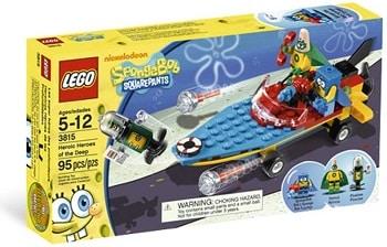 LEGO 3815 Heroic Heroes of the Deep Set