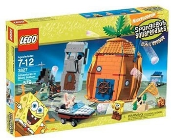 LEGO 3827 Adventures in Bikini Bottom Set
