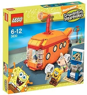 LEGO 3830 The Bikini Bottom Express Set