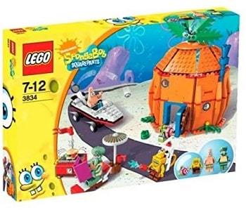 LEGO 3834 Good Neighbours at Bikini Bottom Set