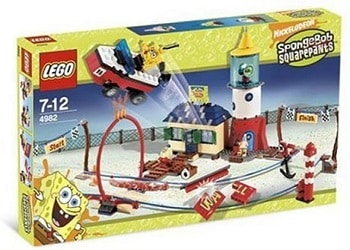 LEGO 4982 Mrs. Puff's Boating School Set