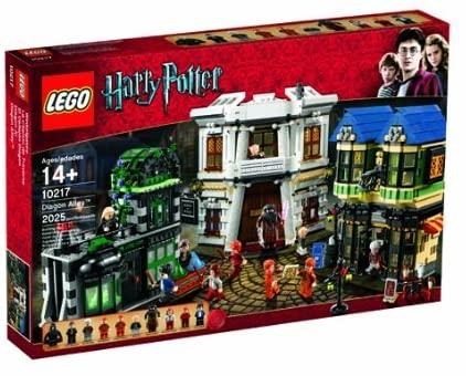 LEGO Harry Potter Diagon Alley 10217 Set
