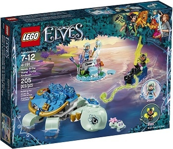 LEGO 41191 Naida & The Water Turtle Ambush Set