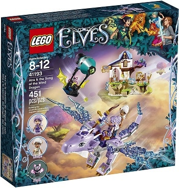 LEGO 41193 Aira & The Song of the Wind Dragon Set