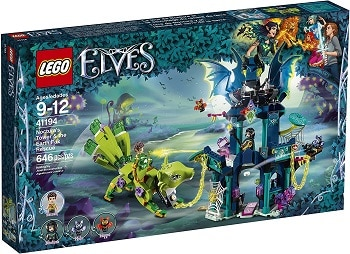 LEGO 41194 Nocturna's Tower and the Earth Fox Rescue Set