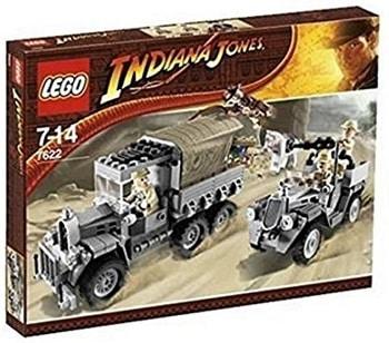 LEGO 7622 Race for the Stolen Treasure Set