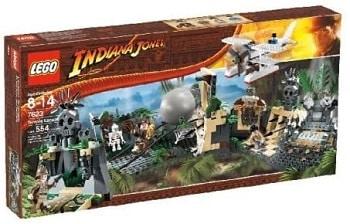 LEGO 7623 Temple Escape Set