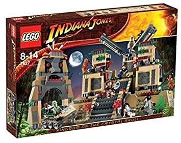 LEGO 7627 Temple of the Crystal Skull Set