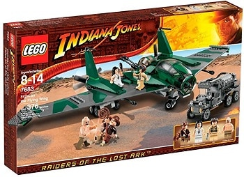 LEGO 7683 Fight on the Flying Wing Set