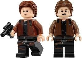 LEGO Hans Solo Minifigure from 75212 Kessel Run Millenium Falcon