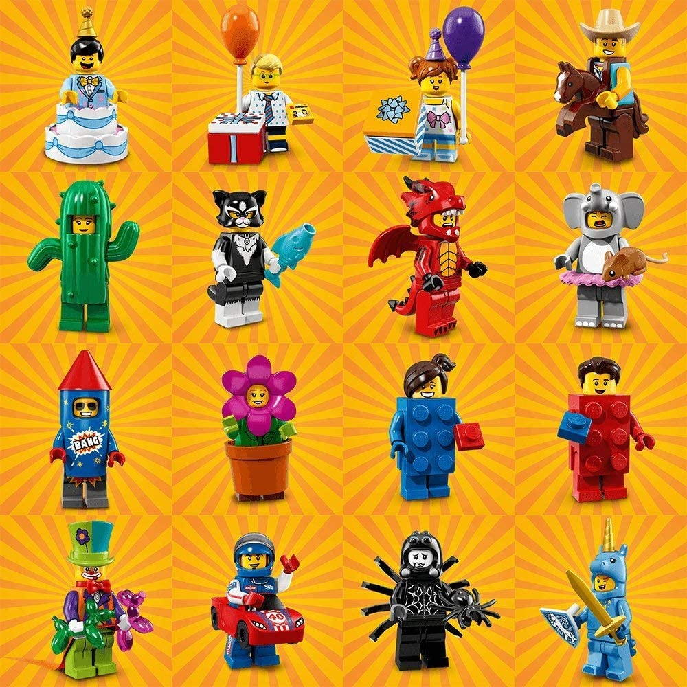 LEGO Minifigures Series 18 Full Collection CMF