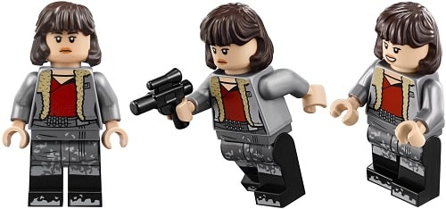 Qi'Ra Minifigure from 75209 Han Solo's Landspeeder
