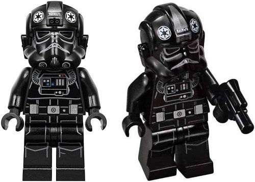 Standard Imperial TIE Fighter Pilot Minifigure from 75211 Imperial TIE Fighter