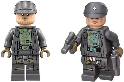 Tobias Beckett Minifigure from 75211 Imperial TIE Fighter