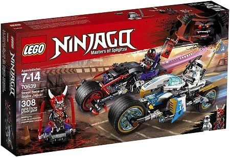 LEGO 70639 Street Race of Snake Jaguar Set