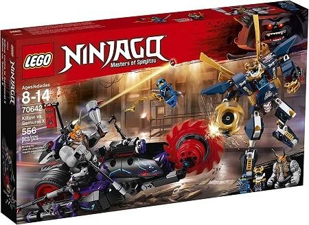 LEGO 70642 Killow vs Samurai X Set