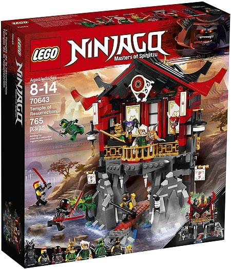LEGO 70643 Temple of Resurrection Set