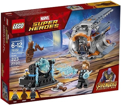 LEGO 76102 Thor's Weapon Quest Set - Power Infinity Stone