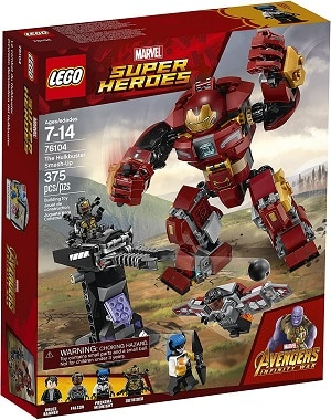LEGO 76104 The Hulkbuster Smash-Up Set - Soul Infinity Stone
