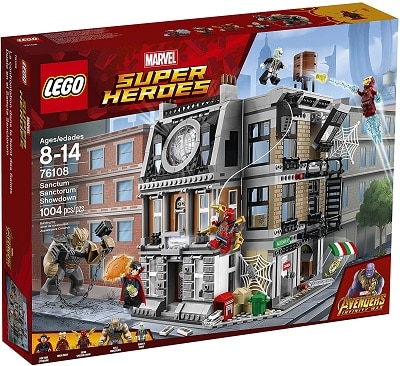 LEGO 76108 Sanctum Sanctorum Showdown Set - Time Infinity Stone