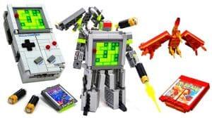 LEGO Gameboy Transformer Set MOC