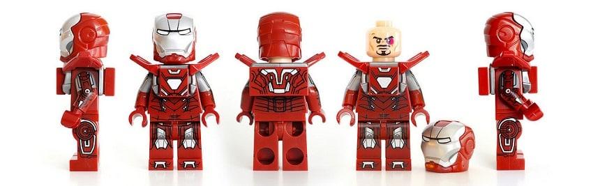 LEGO Iron Man MK33 Silver Centurion (2016)