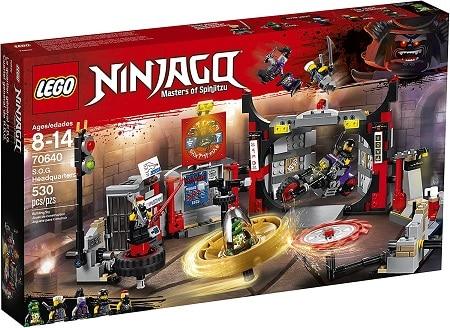 LEGO NINJAGO S.O.G. Headquarters 70640 Set
