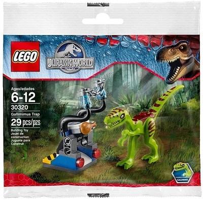 LEGO 30320 Gallimimus Trap