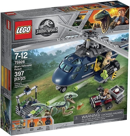 LEGO 75928 Blue's Helicopter Pursuit