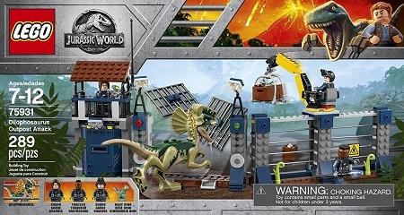 LEGO 75931 Dilophosaurus Outpost Attack