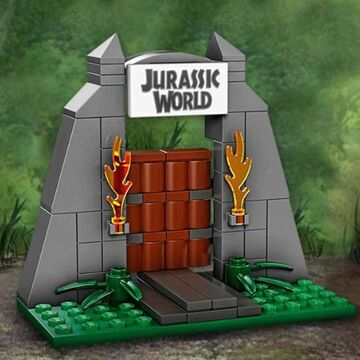 LEGO Jurassic World Gate Toys R Us