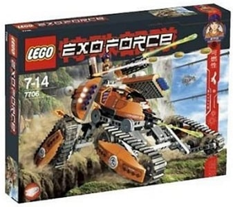Lego Exo-Force Mobile Defence Tank