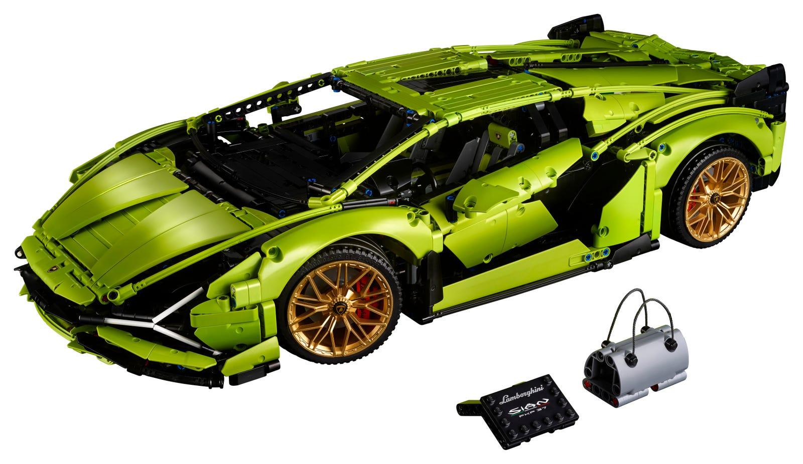 LEGO Technic 42115 Lambourghini Sian FKP 37